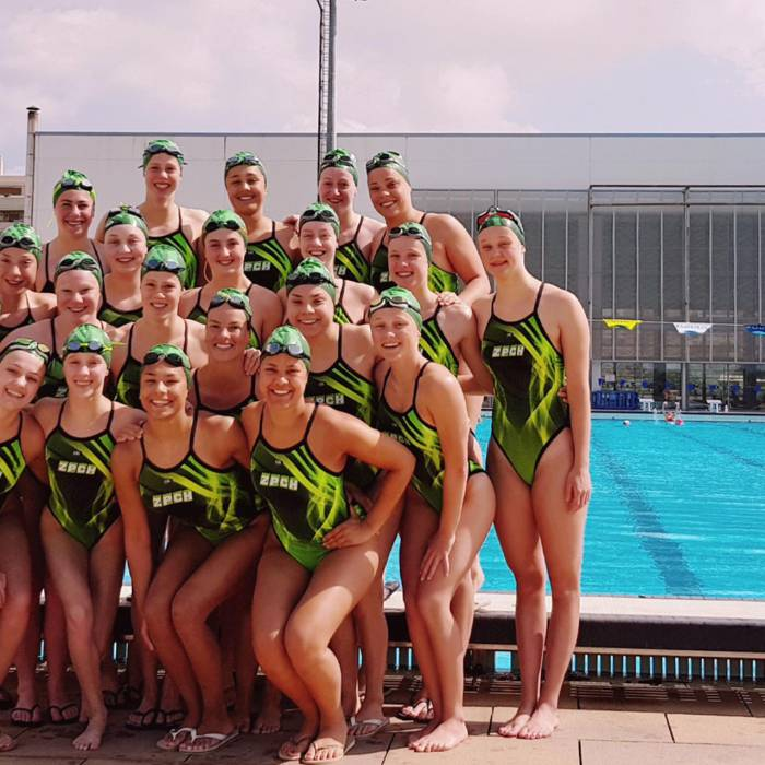 Dutch synchronized swimming team is ready for the top